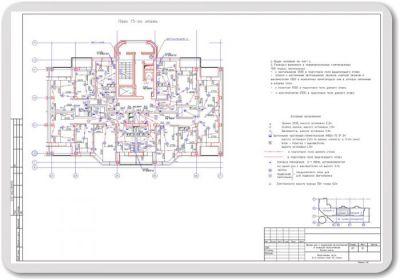 Проектирование электрооборудования и освещения квартир