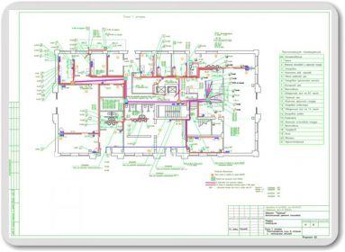 Проект электроснабжения столовой